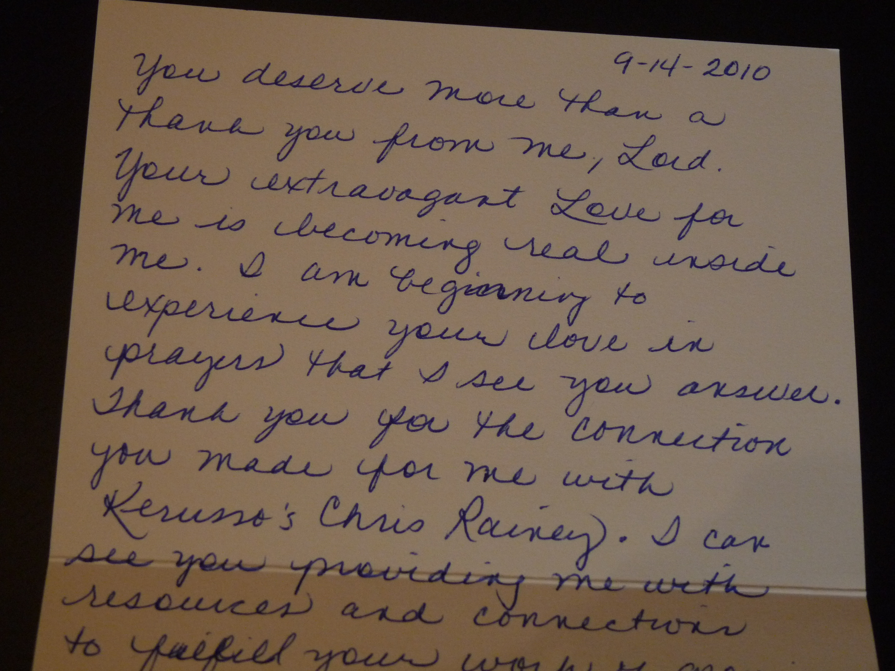 thank you note response to extravagant gifts